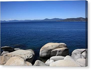 Lake Tahoe Canvas Print by Frank Romeo