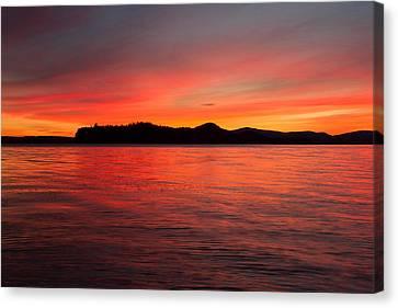 Lake Winnipesaukee Canvas Print