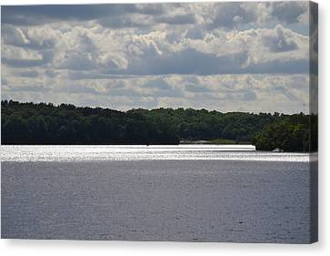 Lakeview Canvas Print by Shelley Wood