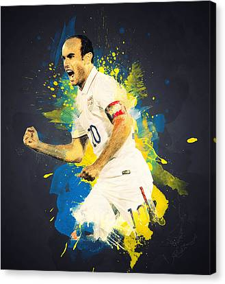 Landon Donovan Canvas Print