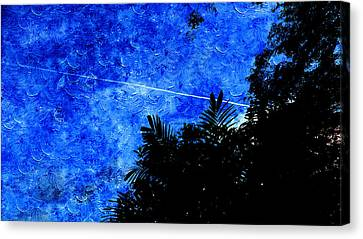 Public Holiday Canvas Print - Blue Sky by Xueyin Chen