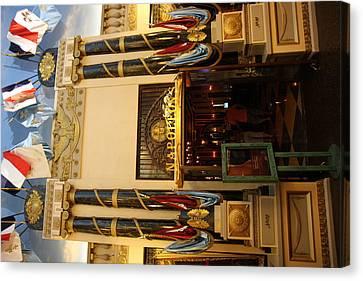 Las Vegas - Paris Casino - 12126 Canvas Print by DC Photographer