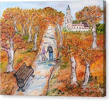 L'autunno Della Vita Canvas Print