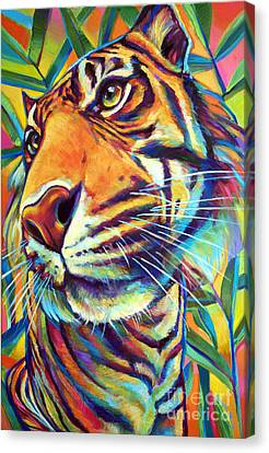 Le Tigre Canvas Print by Robert Phelps