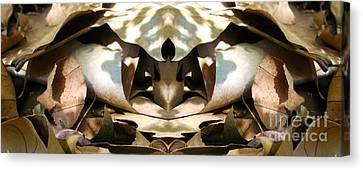 Leaf On Dune Canvas Print by Predrag Starovic