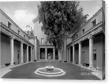 Lebus Court Pomona College Canvas Print by University Icons