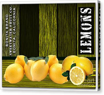 Lemon Farm Canvas Print by Marvin Blaine