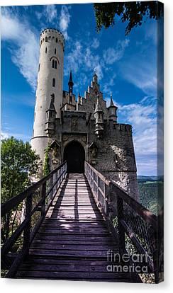 Lichtenstein Castle - Baden-wurttemberg - Germany Canvas Print by Gary Whitton