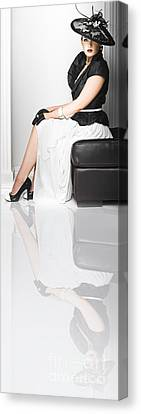 Debutante Canvas Print - Lifestyle Of The Rich And Famous by Jorgo Photography - Wall Art Gallery