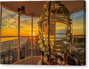 Lighting The Way Canvas Print by Brian Wright