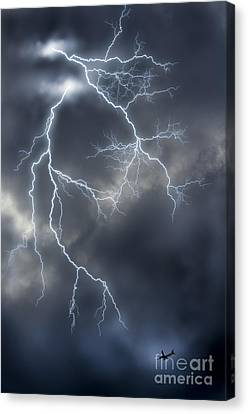 Airoplane Canvas Print - Lightnings by Tuimages