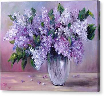 Lilac Canvas Print by Nina Mitkova