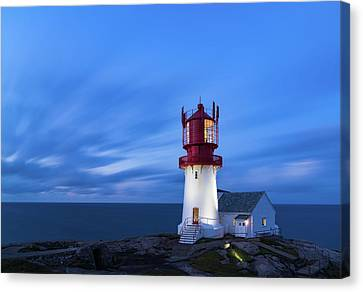 Guides Canvas Print - Lindesnes Fyr - Lighthouse In The South Of Norway by Georgy Krivosheev