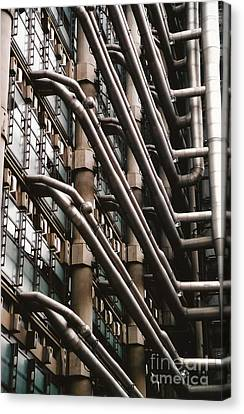 Lloyd's Of London 3 Canvas Print by Dennis Knasel
