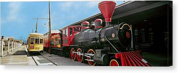 Locomotive At The Chattanooga Choo Canvas Print by Panoramic Images