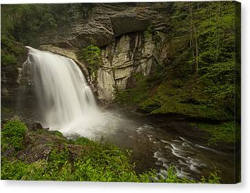 Looking Glass Falls Canvas Print by Doug McPherson