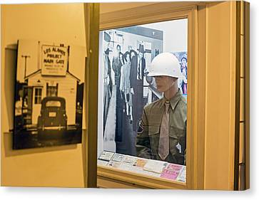 Los Alamos Historical Museum Canvas Print by Jim West