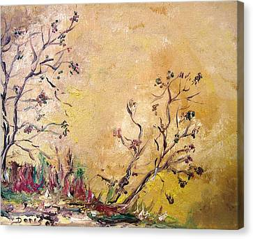 Los Horgolitos 1 Canvas Print by Doris Cohen
