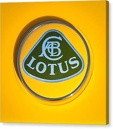Lotus Emblem Canvas Print by Jill Reger
