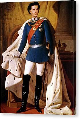Louis II (1845-1886) Canvas Print by Granger