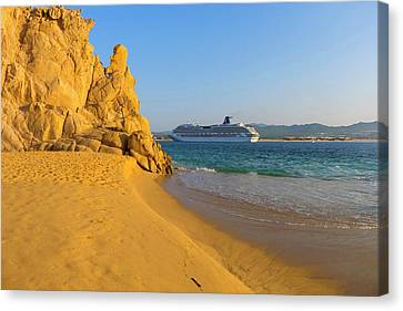 Lovers Beach, Cabo San Lucas, Baja Canvas Print by Douglas Peebles
