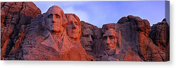 Low Angle View Of A Monument, Mt Canvas Print by Panoramic Images