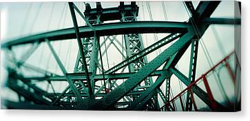 Williamsburg Canvas Print - Low Angle View Of A Suspension Bridge by Panoramic Images