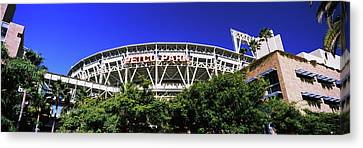 San Diego California Baseball Stadiums Canvas Print - Low Angle View Of Baseball Park, Petco by Panoramic Images