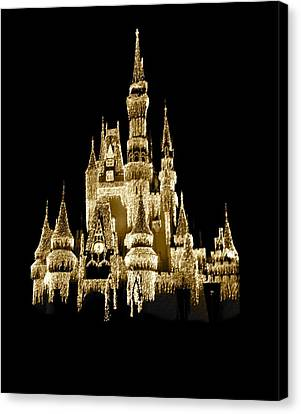 Isolated Canvas Print - Magic Kingdom by Art Spectrum