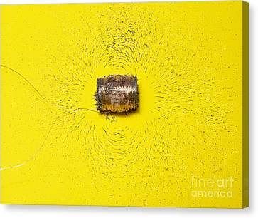Magnetic Field Of A Solenoid Canvas Print