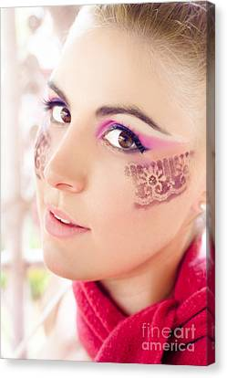 Makeup Canvas Print by Jorgo Photography - Wall Art Gallery