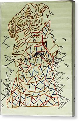 Mama Asia Canvas Print by Gloria Ssali
