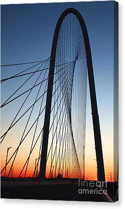 Nosyreva Canvas Print - Margaret Hunt Hill Bridge by Elena Nosyreva