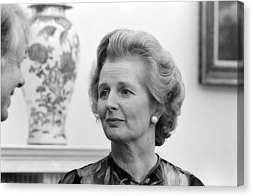 Margaret Thatcher (1925-2013) Canvas Print