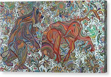 Reform Canvas Print - Market Nature by Erika Pochybova