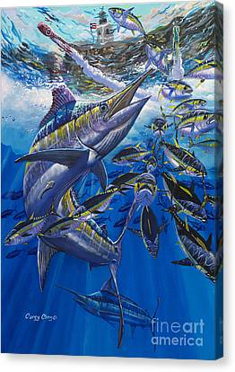 Marlin El Morro Canvas Print by Carey Chen