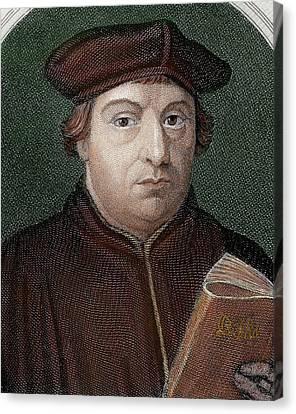 Martin Luther (eisleben, 1483 Canvas Print