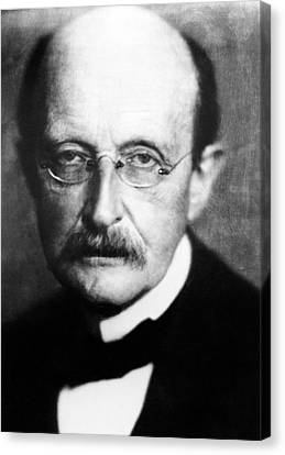 Max Planck Canvas Print by Emilio Segre Visual Archives/american Institute Of Physics