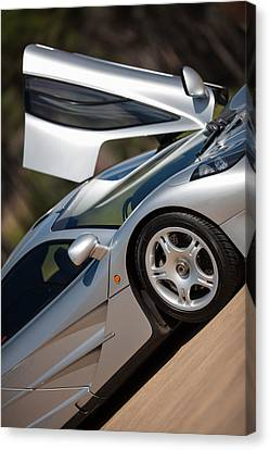 Mclaren F1 Canvas Print by George Schmahl