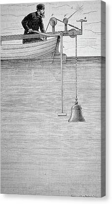 Measuring The Velocity Of Sound In Water Canvas Print