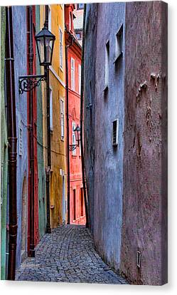 Medieval Alley Canvas Print