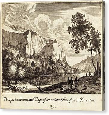 Melchior Küsel After Johann Wilhelm Baur German Canvas Print by Quint Lox