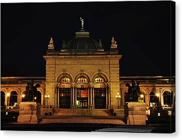 Memorial Hall - Philadelphia Canvas Print by Bill Cannon