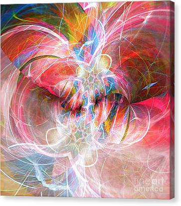 Canvas Print featuring the digital art Metamorphosis  by Margie Chapman