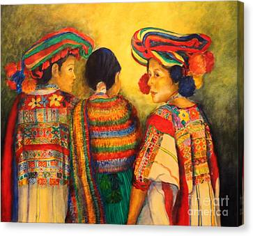 Mexican Impression Canvas Print by Dagmar Helbig