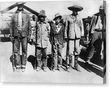 Mexican Revolution, 1912 Canvas Print by Granger