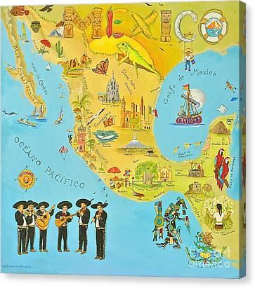 Mexico Canvas Print by Virginia Ann Hemingson