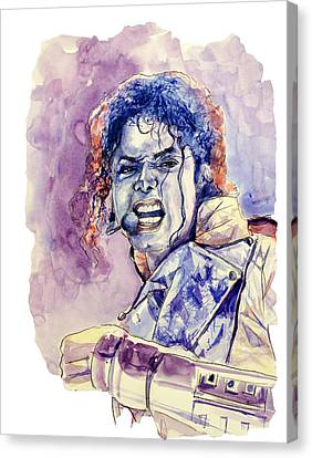 Michael Jackson Canvas Print by Bekim Art