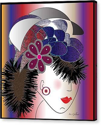 Michelle Canvas Print by Iris Gelbart