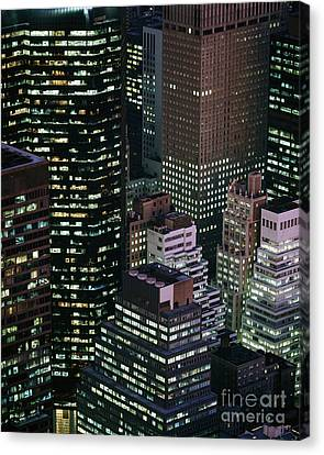 Midtown Manhattan Canvas Print by Rafael Macia